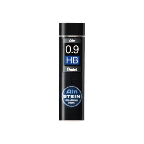 【Pentel/ぺんてる】Ain替え芯 STEIN/アインシュタイン(0.9mm/HB)