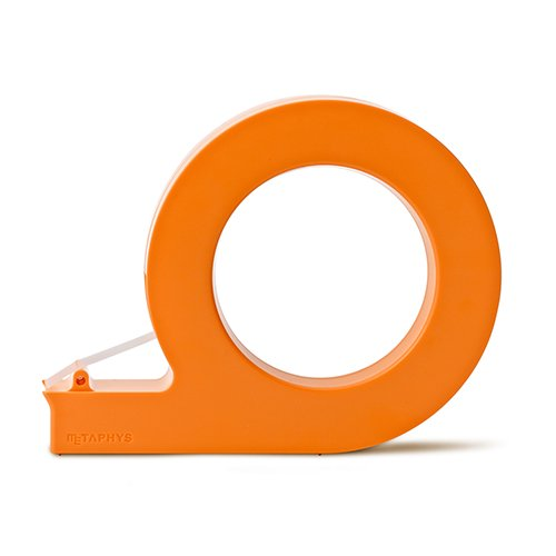 【METAPHYS/メタフィス】holo /ハンディーテープカッター(オレンジ)
