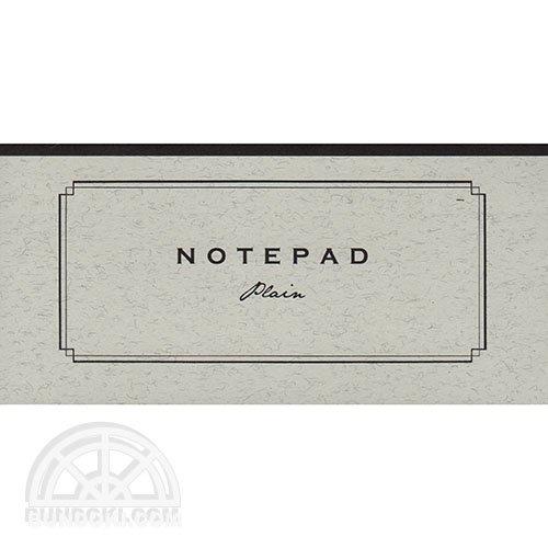 【yuruliku/ユルリク】NOTEPAD Plain/活版印刷一筆箋(飾り罫・無地)