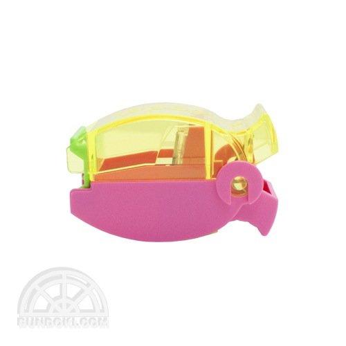 【TOMBOW/トンボ鉛筆】ippo!/つまんでポイ シャープナー(ピンク)