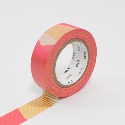 【カモ井加工紙/KAMOI】mtマスキングテープ/つぎはぎ・F