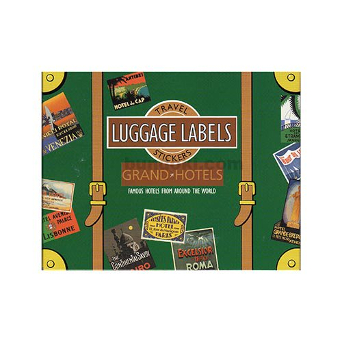 LUGGAGE LABELS(GRAND HOTELS)
