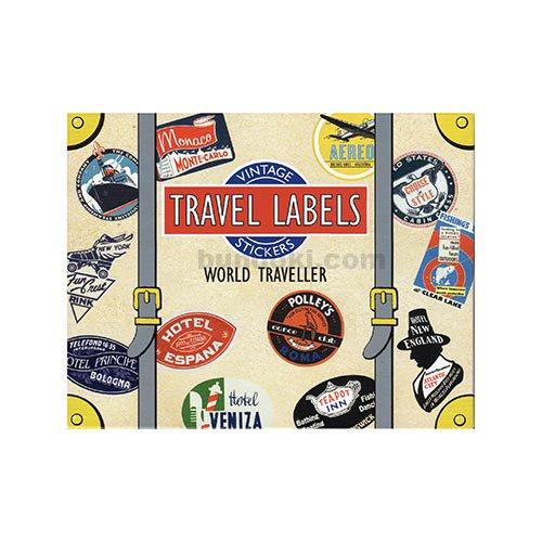 LUGGAGE LABELS(WORLD TRAVELLER)