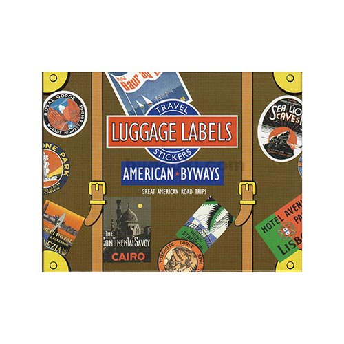 LUGGAGE LABELS(AMERICAN BYWAYS)