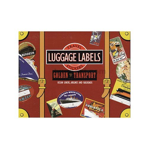 LUGGAGE LABELS(GOLDEN AGE OF TRANSPORT)