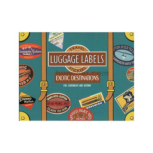 LUGGAGE LABELS(EXOTIC DESTINATIONS)