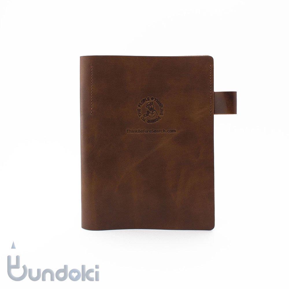【Thinking Power Notebook】革製メモカバー『ダブルデッカー』