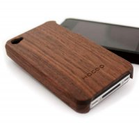 【hacoa/ハコア】Wooden Case for iPhone 4(iPhoneケース)