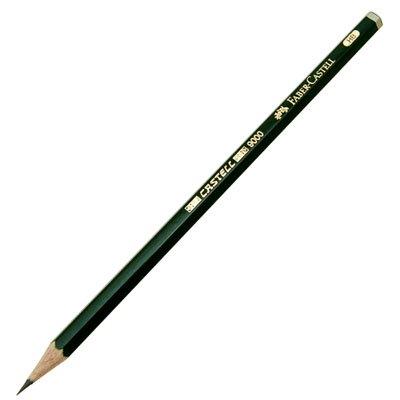 【FABER-CASTELL/ファーバーカステル】9000番鉛筆(硬度:8B)
