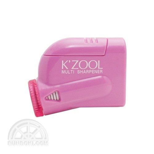 【kutsuwa/クツワ】鉛筆けずり K'ZOOL/ケ・ズール(ピンク)