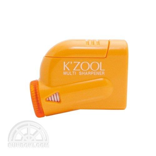 【kutsuwa/クツワ】鉛筆けずり K'ZOOL/ケ・ズール(オレンジ)