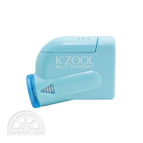 【kutsuwa/クツワ】鉛筆けずり K'ZOOL/ケ・ズール(ライトブルー)
