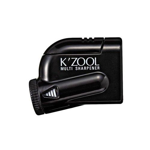 【kutsuwa/クツワ】鉛筆けずり K'ZOOL/ケ・ズール(ブラック)