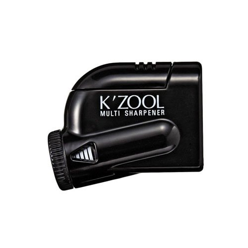 【kutsuwa/クツワ】鉛筆けずり K'ZOOL/ケズール (ブラック)