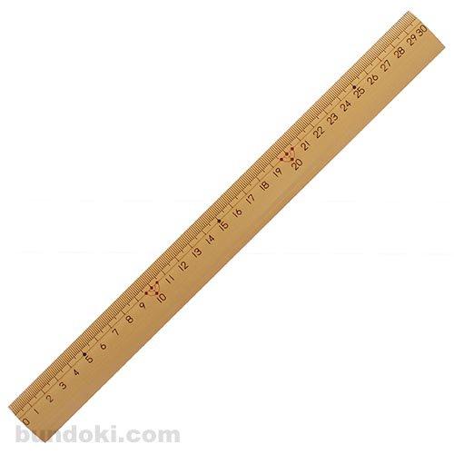 【kutsuwa/クツワ】算数竹尺(30cm)