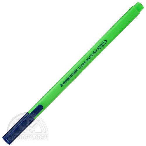 【STAEDTLER/ステッドラー】トリプラステキストサーファー蛍光ペン(グリーン)
