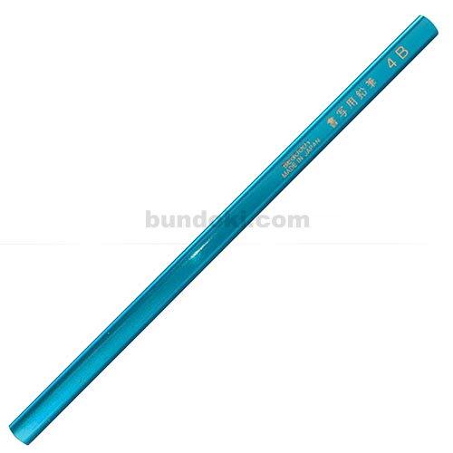 【アイボール鉛筆/JANOME】低学年用・角丸・短め・三角書写用鉛筆 4B