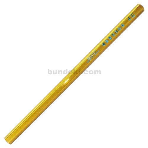 【アイボール鉛筆/JANOME】低学年用・角丸・短め・六角硬筆書写用鉛筆 4B