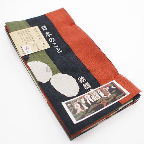 【濱文様】てぬぐい本/日本のこと(歌舞伎編)