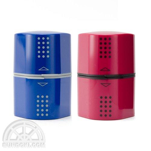 【FABER-CASTELL/ファーバーカステル】Colour GRIP 2001 3穴プラスチックシャープナー