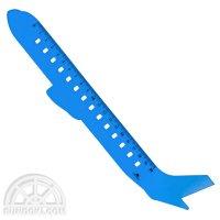 【CEDON/ツェドン】ACRYLIC RULER 20cm(飛行機)