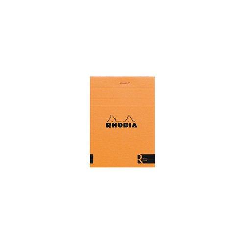 【Rhodia/ロディア】ブロックロディア R/No.11・横罫(オレンジ)