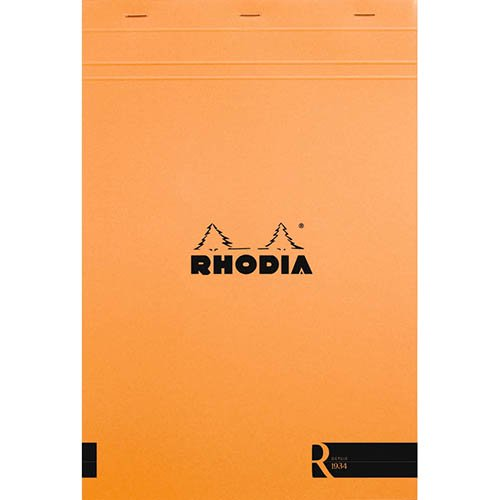 【Rhodia/ロディア】ブロックロディア R/No.19(A4+)・横罫(オレンジ)