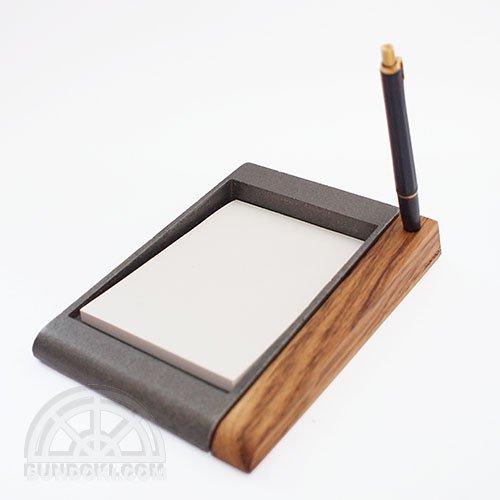 【hacoa/ハコア】MOKU-TETSU Memo tray/メモトレイ