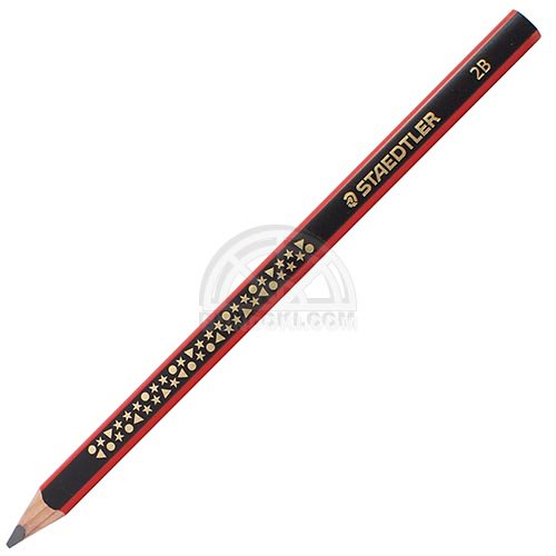 【STAEDTLER/ステッドラー】トリプラスジャンボ書き方鉛筆2B/1285-1