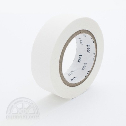 【カモ井加工紙/KAMOI】mtマスキングテープ/マットホワイト