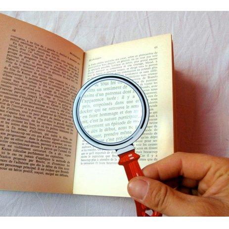 【KIKKERLAND/キッカーランド】fresnel bookmark magnifier