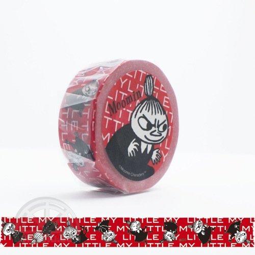 【有限会社くま/KUMA】ムーミンマスキングテープ・リトルミイ in RED