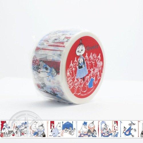 【有限会社くま/KUMA】ムーミンマスキングテープ・コミックシリーズ(リトルミイ)
