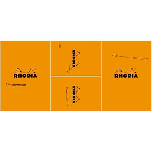 【Rhodia/ロディア】THE bloc memo, Travel with RHODIA・オレンジ【限定品】
