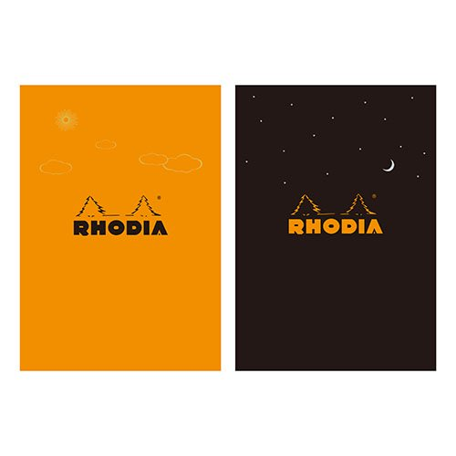 【Rhodia/ロディア】THE bloc memo, RHODIA Day & Night【限定品】