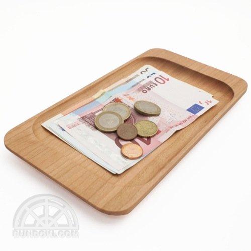 【hacoa/ハコア】Cash Tray・キャッシュトレー(チェリー)