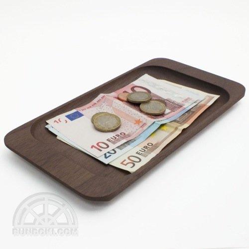 【hacoa/ハコア】Cash Tray・キャッシュトレー(ウォールナット)