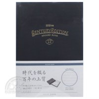 【KOKUYO/コクヨ】装丁ノート/RECORD BOOK Century Edition(中横罫・墨)