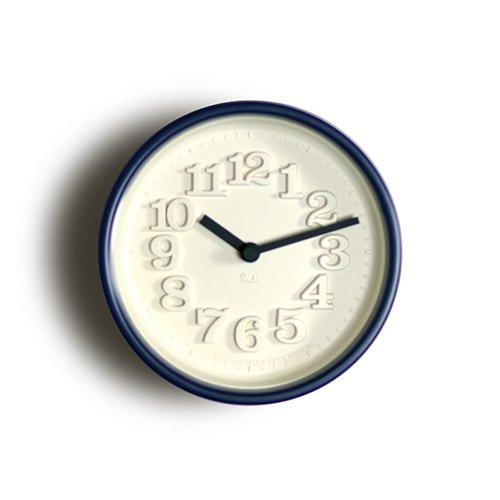 【Lemnos/レムノス】小さな時計(ブルー)