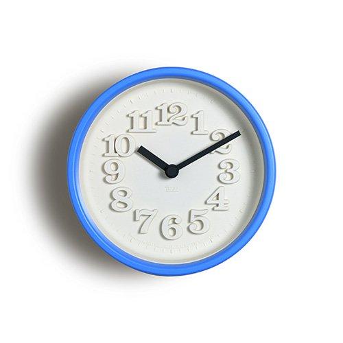 【Lemnos/レムノス】小さな時計(ライトブルー)
