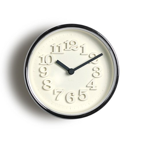 【Lemnos/レムノス】小さな時計(シルバー)