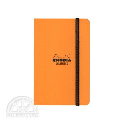 【Rhodia/ロディア】UNLIMITED(オレンジ)