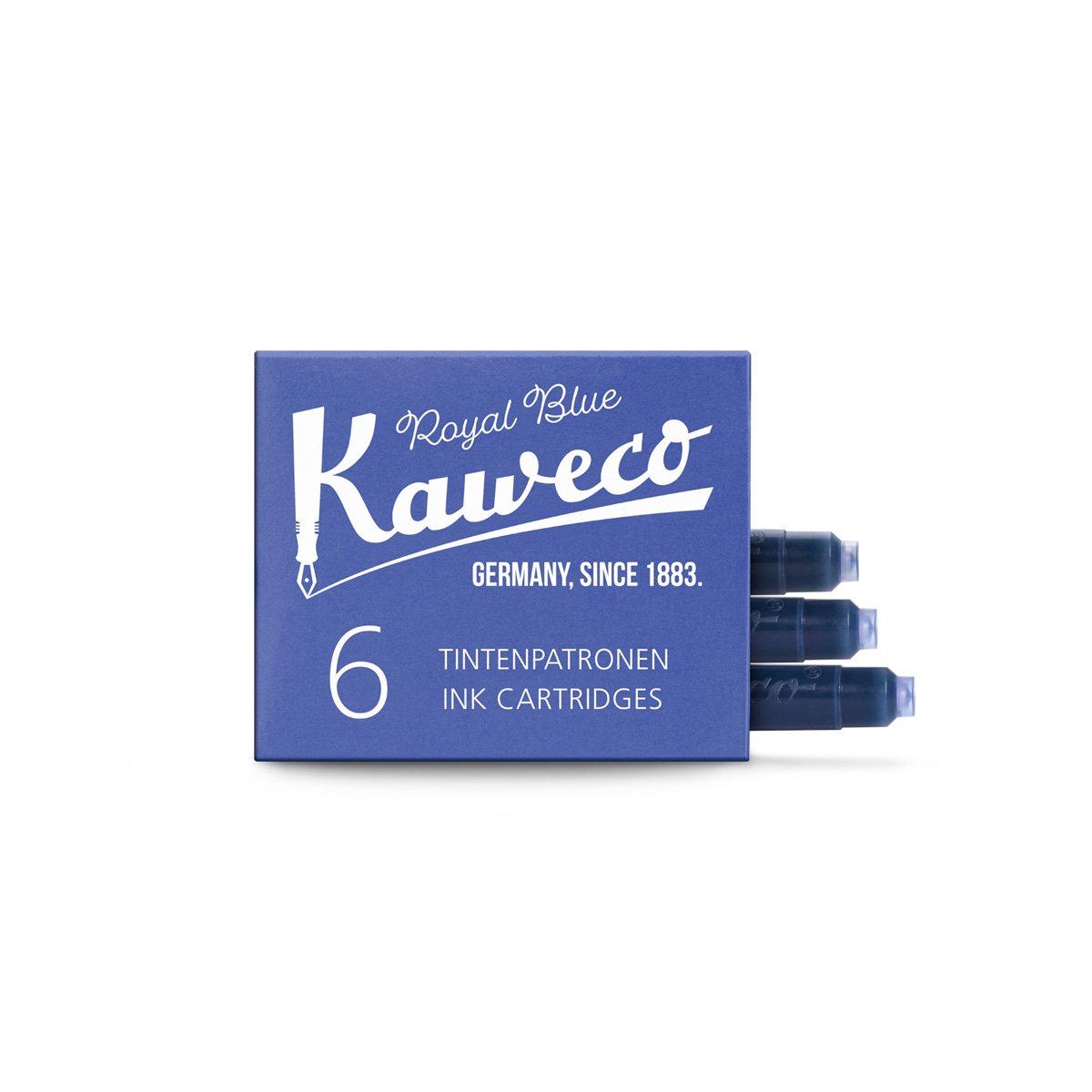 【KAWECO/カヴェコ】インクカートリッジ(ロイヤルブルー)