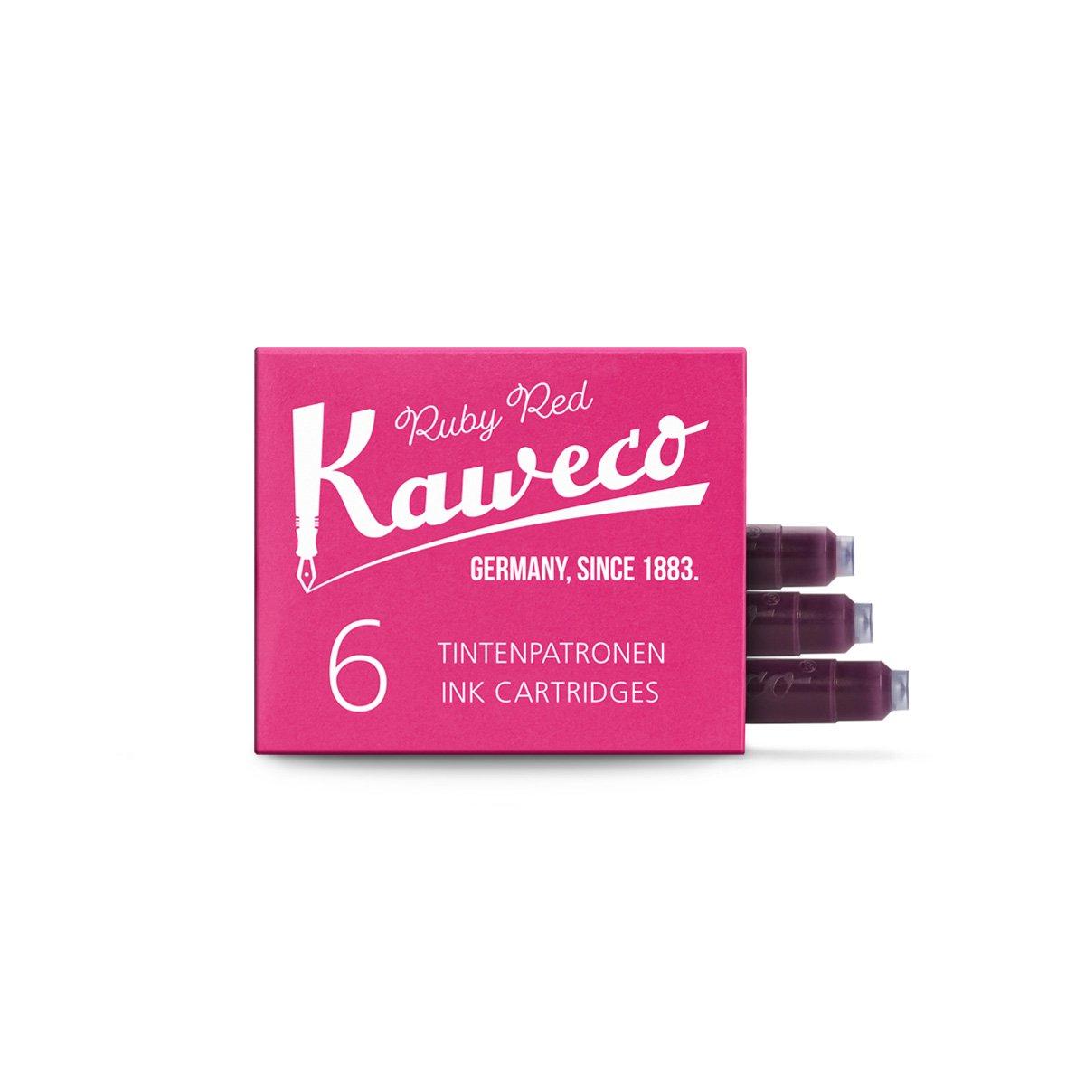 【KAWECO/カヴェコ】インクカートリッジ(レッド)