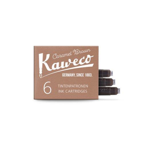 【KAWECO/カヴェコ】インクカートリッジ(キャラメルブラウン)