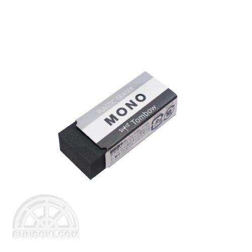 【TOMBOW/トンボ鉛筆】MONO ブラック消しゴム/PE-01AB