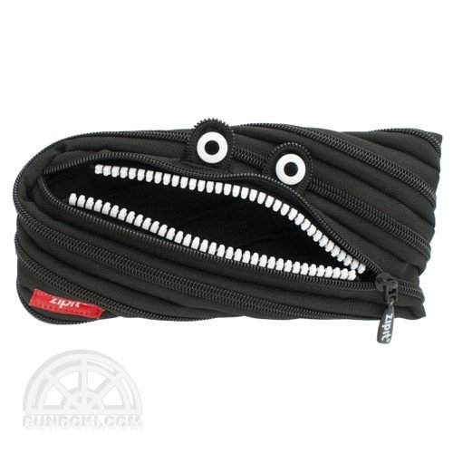 【Zip It/ジップイット】モンスターポーチ(ブラック)