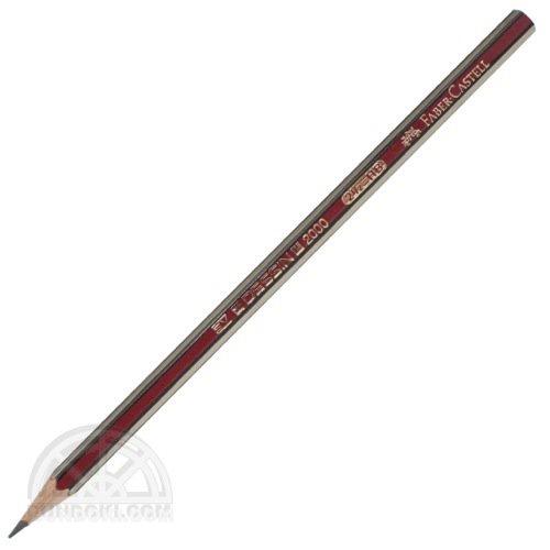 【FABER-CASTELL/ファーバーカステル】DESSIN 2000/デッサン2000鉛筆(硬度:HB)
