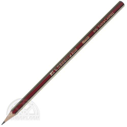 【FABER-CASTELL/ファーバーカステル】DESSIN 2000/デッサン2000鉛筆(硬度:B)