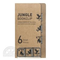 【dcell】JUNGLE BOOKCLIP(Small/6 Pieces)